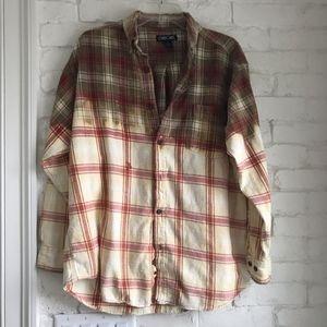 Cherokee Bleach-Dyed Flannel